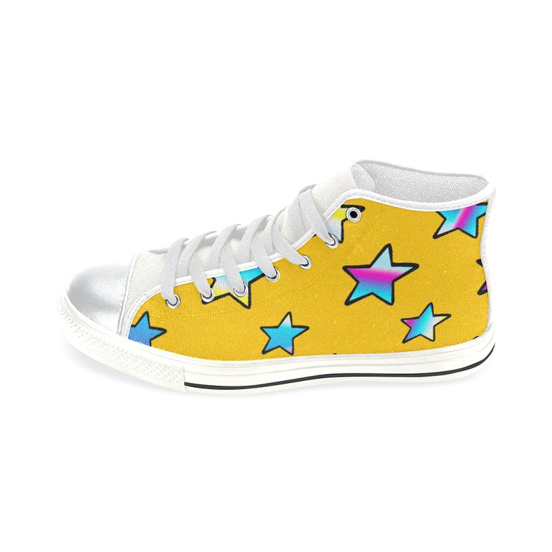 Stars of yellow sun, Lace up shoes