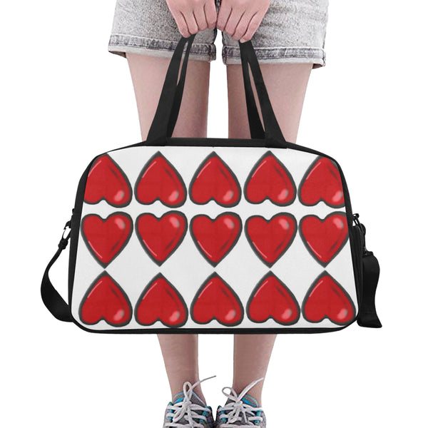 Chain of hearts Travel Bag