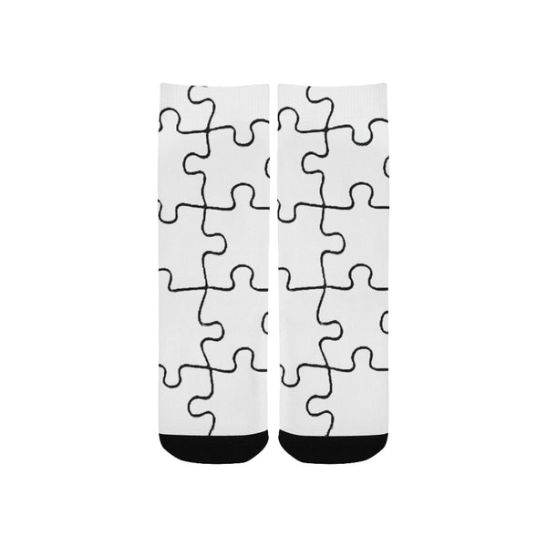 Puzzle Kid's Printed Socks-[stardust]