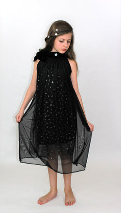 Black starry dress