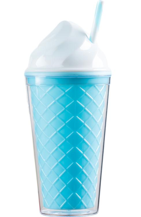 Ice Cream Tumbler - Blue Cone