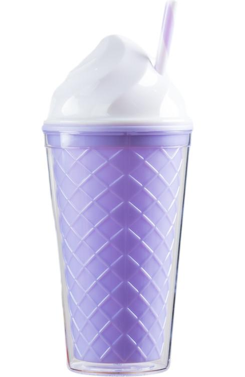 Ice Cream Tumbler - Purple Cone