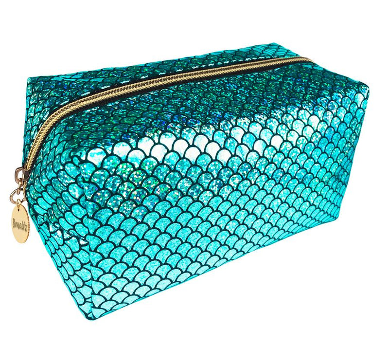 Mermaid Makeup Bag Green