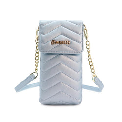 Mila Mini Crossbody Phone Wallet - Blue