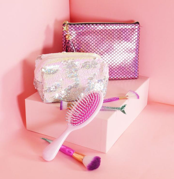 Sequin Makeup Bag