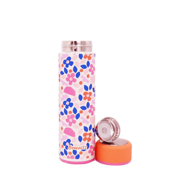 Stainless Steel Tumbler - Paper Flowers