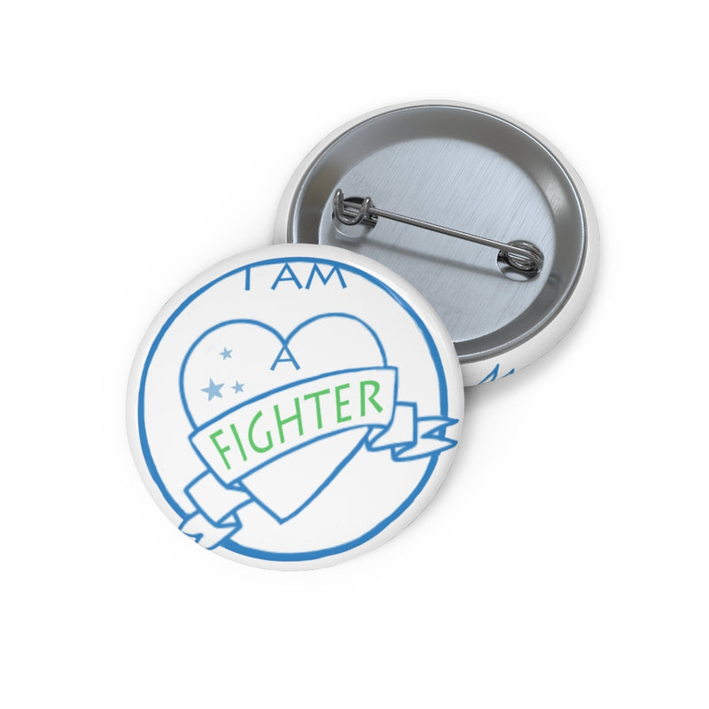 I Am a Fighter - Custom Pin Buttons, End NF