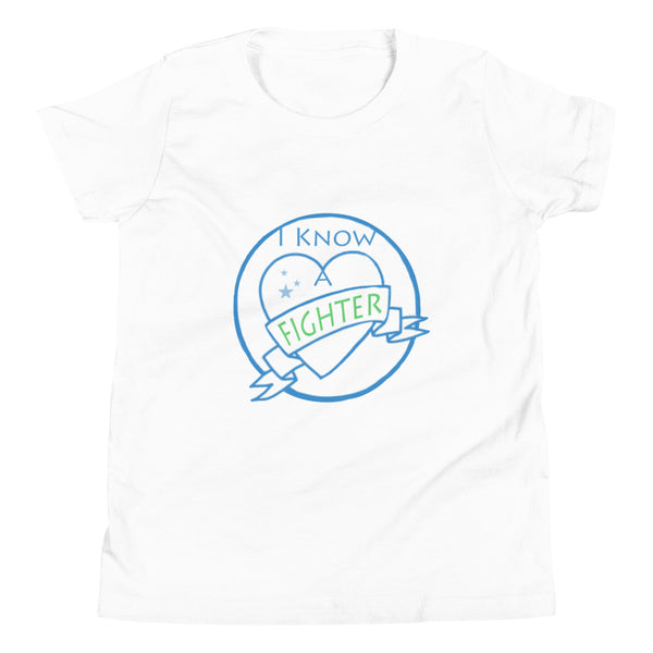 I know a Fighter , Youth Short Sleeve T-Shirt, Variant colors,  END NF