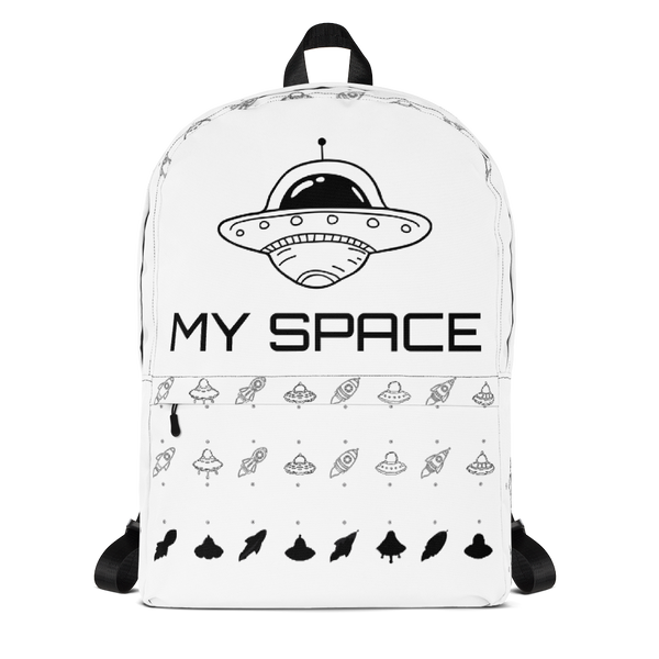 My Space ,Original print Backpack-[stardust]