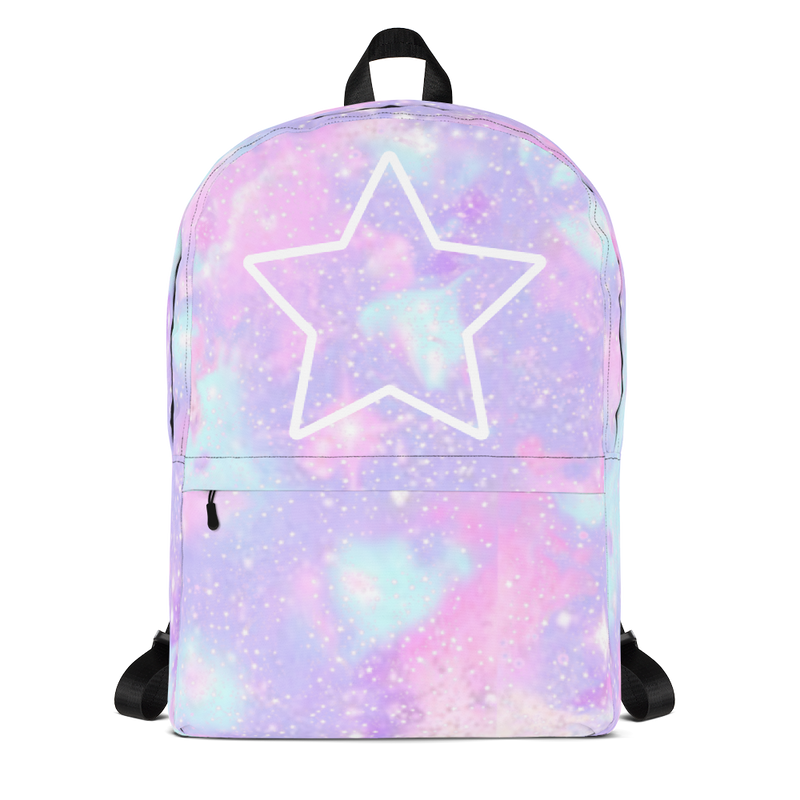 Galaxy ,Medium Backpack-[stardust]