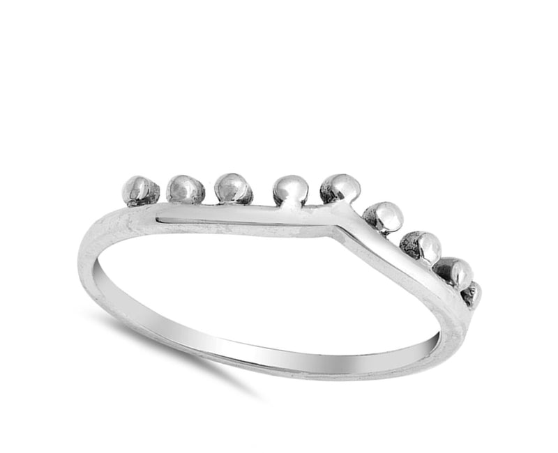 The Princess Crown Silver Ring-[stardust]