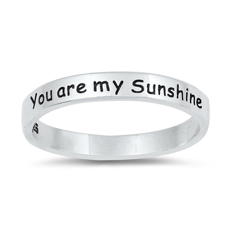 My Sunshine Silver Ring-[stardust]