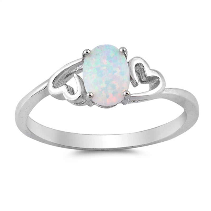 Opal Love in Silver Ring-[stardust]
