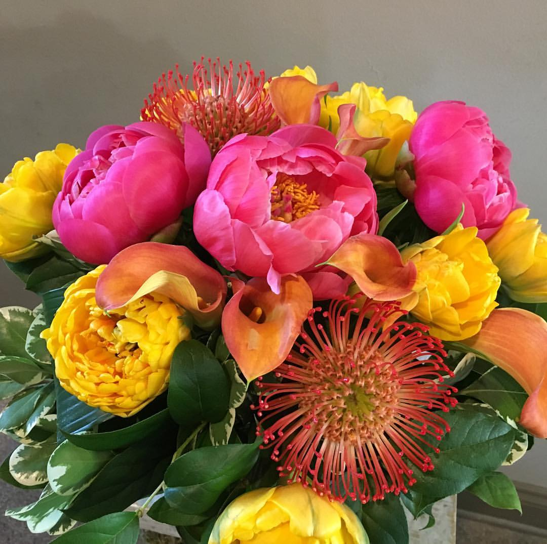 Colorful Floral Arrangements