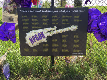 New Power Generation United Kingdom fan club memorial for Prince