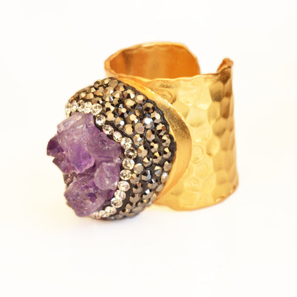 Diana Ring-Women - Jewelry - Rings- Boho Chic - Free Spirit -The Poetic Soul
