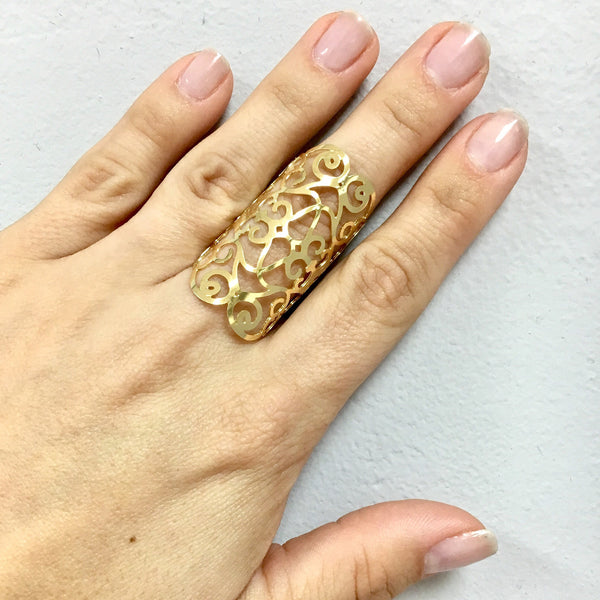 Roman Ring-Women - Jewelry - Rings- Boho Chic - Free Spirit -The Poetic Soul