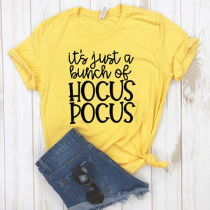 Its Just A Bunch Of Hocus Pocus Women tshirt-Shirts-The Poetic Soul