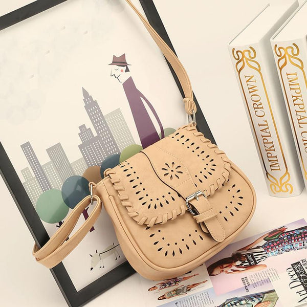 The National Satchel Handbag (Multiple Colors Available)-Purse-Beige- Boho Chic - Free Spirit -The Poetic Soul