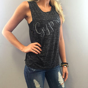 GYPSY Tank Top-Shirts-The Poetic Soul-Black-L-The Poetic Soul
