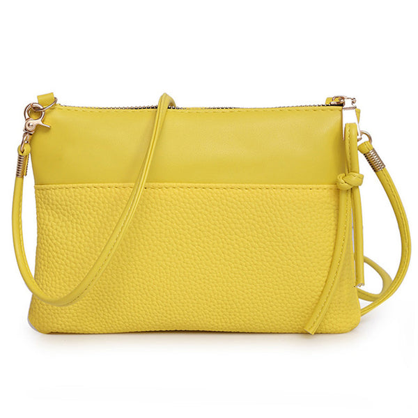 On the go crossbody bag - purse (Multiple Colors available)-Purse-Yellow- Boho Chic - Free Spirit -The Poetic Soul