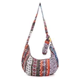 Free Spirit - Ethnic - Shoulder Bag - Crossbody Bags (2018 Boho Tote Messenger Bags)-purse -The Poetic Soul - Boho Style, Women's Clothing & Chic Accessories