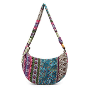 Free Spirit - Ethnic - Shoulder Bag - Crossbody Bags (2018 Boho Tote Messenger Bags)-purse-The Poetic Soul-Purple-The Poetic Soul