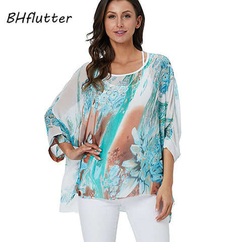 Batwing Sleeve Cover Up (Various Patterns Available)-kimono -The Poetic Soul - Boho Style, Women's Clothing & Chic Accessories