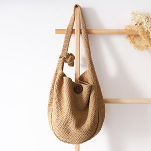 Knitting Hobo Sling Bag-bag-The Poetic Soul