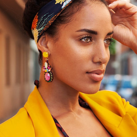 Lemon Drop - Various Boho Style Earring Sets-Accessories-The Poetic Soul