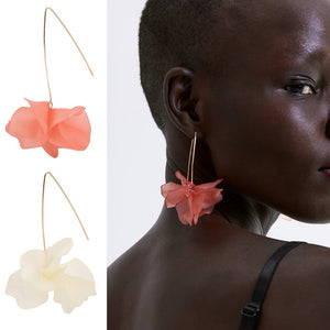 Summer Flower Statement Earrings-Accessories -The Poetic Soul - Boho Style, Women's Clothing & Chic Accessories