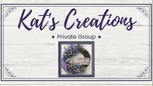 Kat's Creations Private Group (Monthly)