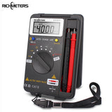 RICHMETERS VC921 Mini Digital Multimeter True-RMS Auto Range Frequency AC/DC Voltage 4000 counts pocket size meter