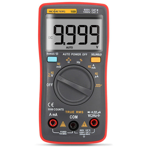 RM111 NCV Digital Multimeter Auto-Range 9999 counts