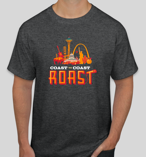 Coast to Coast Roast Branded T-shirt