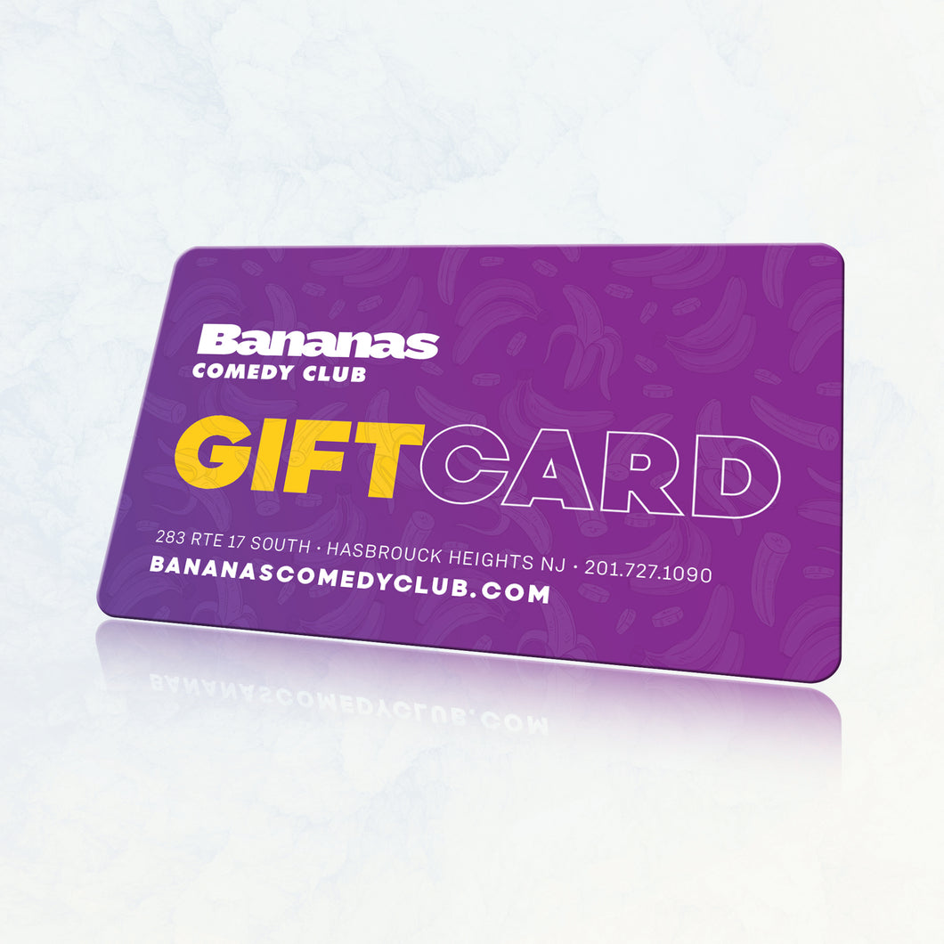 Bananas Gift Card | $25-$100