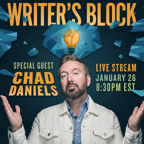 Podcast Live Stream: Writer's Block | Tuesday, January 26 - 8:30 PM EST / 5:30 PM PST