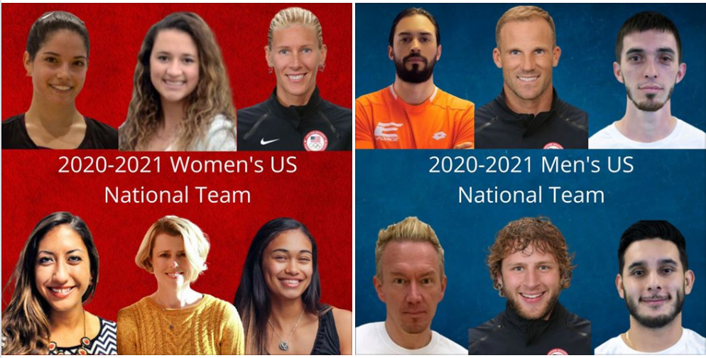USA Racquetball names 2020-2021 U.S. National Team!
