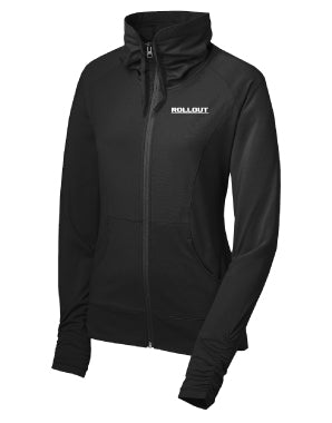 Rollout Cowl Neck Sport Jacket