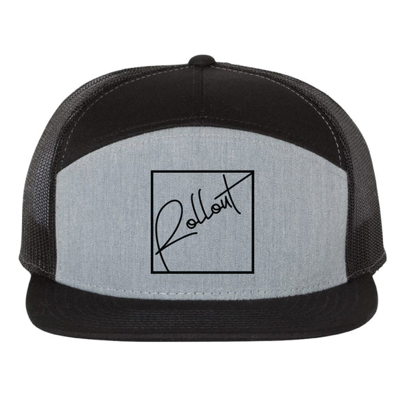 Boxout 7-Panel Trucker Hat