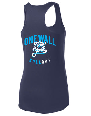 One Wall NYC Performance Racerback Tank