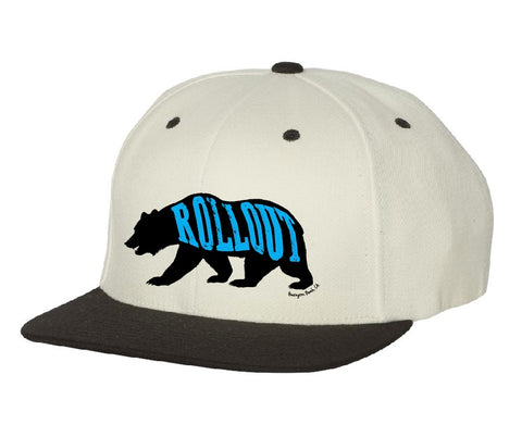 Cali Bear Signature Flat Brim Hat
