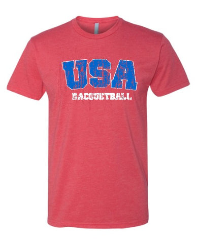 USA Racquetball Athlete T-Shirt