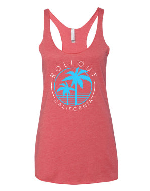 California Signature Racerback Tank