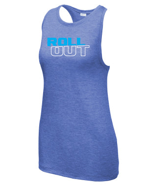 Knockout Triblend Racer Tank