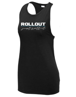 Standard Issue Triblend Racer Tank