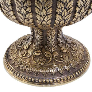 1870 Indian Kutch Style Antique English Silver Gilt Cup
