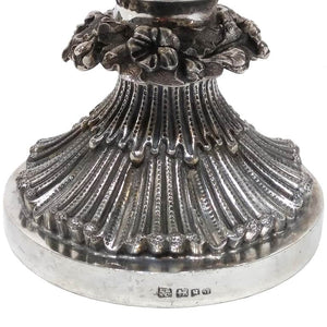 Antique Indian Colonial Silver Cup And Cover, Greyhound, Rococo Revival, Lattey Brothers, Calcutta (kolkata), India – 1842/55
