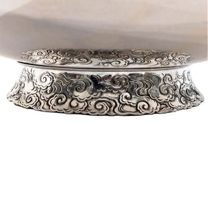 Antique Gold And Silver Mixed Metal Bowl Japan