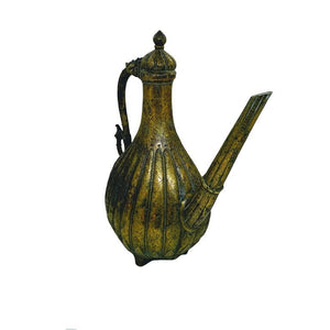 Antique North Indian Bronze Ewer Aftaba Mughal 18th Century